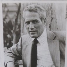 Cine: PAUL NEWMAN SIGNED PHOTO. Lote 109447455