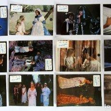 Cine: EL PAJARO AZUL,1977 ELIZABETH TAYLOR, AVA GARDNER, JANE FONDA COMPLETO DE 12 FOTOCROMOS ORIGINALES. Lote 109455263