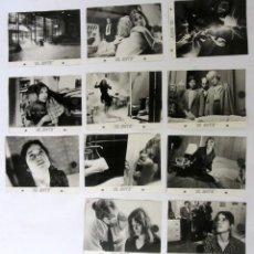 Cine: EL ENTE LOTE DE 11 FOTOGRAFÍAS ORIGINALES EN BLANCO Y NEGRO. Lote 109458023