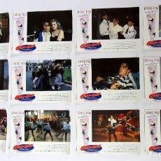 Cine: CRY-BABY EL LAGRIMA JOHNNY DEPP TRACI LORDS LOTE COMPLETO DE 12 FOTOCROMOS. PERFECTO ESTADO. Lote 109468427