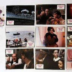 Cine: AMACORD FELLINI LOTE DE 10 FOTOCROMOS ORIGINALES PERFECTO ESTADO. Lote 109470451