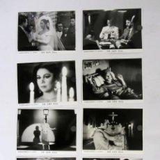 Cine: YO SOY ESA ISABEL PANTOJA JOSE CORONADO LOTE DE 8 FOTOS ORIGINALES BLANCO Y NEGRO. Lote 109476415