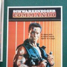 Cine: POSTAL PELICULA COMANDO. Lote 109491591