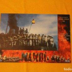Cine: MAMBI. 12 FOTOCROMOS . GUERRA DE CUBA. Lote 109900659
