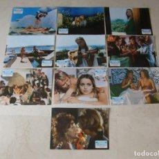 Cine: PECADOS DE JUVENTUD / GLORIA GUIDA / JUEGO 10 FOTOCROMOS ORIGINAL ESTRENO. Lote 110748687
