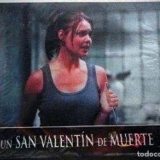 Cine: UN SAN VALENTÍN DE MUERTE - PACK DE 7 FOTOCROMOS ORIGINALES DE LA PELÍCULA.. Lote 111389059