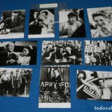 Cine: (M) SILVESTER STALLONE F.T.S.T. SIMBOLO DE FUERZA , 10 FOTOGRAFIAS PROMOCIONALES ORIGINALES. Lote 111572459