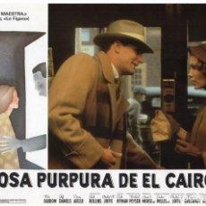 Cine: LA ROSA PURPURA DEL CAIRO. (WOODY ALLEN) 7 FOTOCROMOS DE LA PELICULA. Lote 112035395