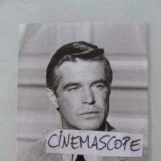 Cine: GEORGE PEPPARD INTERESANTE FOTO ORIGINAL ANTIGUA AÑOS 70. Lote 112890035