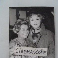 Cine: GIULIETTA MASSINA INTERESANTE FOTO ORIGINAL ANTIGUA AÑOS 70. Lote 112890891