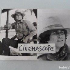 Cine: MICHAEL LANDON LA CASA DE LA PRADERA INTERESANTE LOTE 2 FOTOS ORIGINALES ANTIGUA AÑOS 70. Lote 112891463
