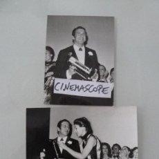 Cine: TOPOL INTERESANTE LOTE 2 FOTOS ORIGINALES ANTIGUA AÑOS 70. Lote 112891567