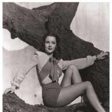 Cine: SUSAN PETERS - FILM STAR PIN UP PHOTO POSTCARD - P702-4 SWIFTSURE POSTCARD. Lote 113160455