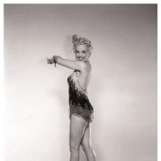 Cine: BETTY GRABBLE - FILM STAR PIN UP PHOTO POSTCARD - P705-2 SWIFTSURE POSTCARD. Lote 113161447