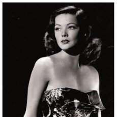 Cine: GENE TIERNEY - FILM STAR PIN UP PHOTO POSTCARD - 1-366 SWIFTSURE POSTCARD. Lote 113161939