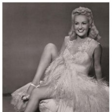 Cine: BETTY GRABBLE - FILM STAR PIN UP PHOTO POSTCARD - 98-189 SWIFTSURE POSTCARD. Lote 113174787