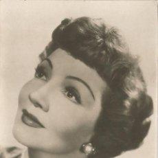Cine: FOTO / POSTAL CLAUDETTE COLBERT - ESCRITA 1954. Lote 113698047