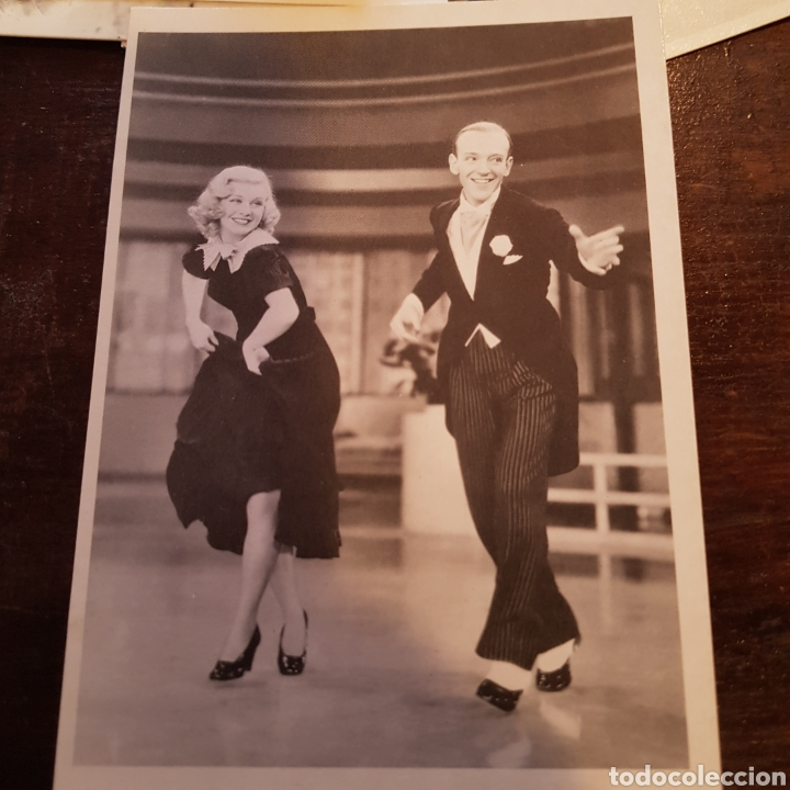 Postal De Fred Astaire Y Ginger Rogers En La Pe Sold Through Direct Sale 89363192