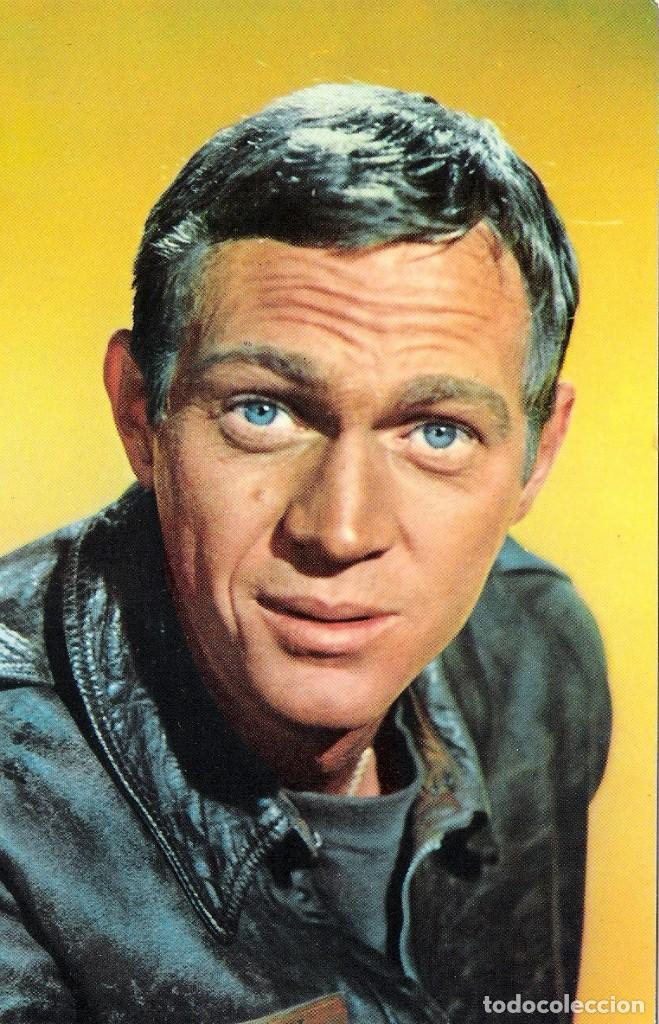 POSTAL ORIGINAL A COLOR (STEVE MC QUEEN) (Cine - Fotos y Postales de Actores y Actrices)
