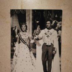 Cine: ANTIGUA POSTAL ORIGINAL -10*15- VICENTE PARRA - PAQUITA RICO - ALBUM - DONDE VAS ALFONSO XII. Lote 116140519