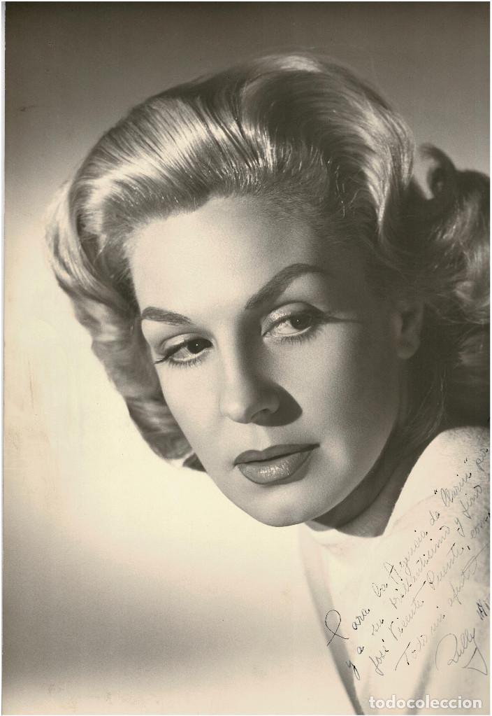 FOTOGRAFÍA ACTRIZ ARGENTINA RULLY MORENO C.1960 36 X 45 CM (Cine - Fotos y Postales de Actores y Actrices)