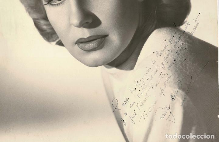 Cine: FOTOGRAFÍA ACTRIZ ARGENTINA RULLY MORENO C.1960 36 X 45 CM - Foto 2 - 116197231