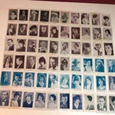 Cine: LOTE DE 62 FOTOGRAFÍAS(CARTULINA) ACTRICES Y ACTORES DE LA NOVELA FILM. AÑOS 30.. Lote 116443231