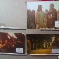 Cine: JESUS DE NAZARET II PARTE ZEFFIRELLI POWELL 7 FOTOCROMOS ORIGINALES B2(885)POSIBILIDAD DE BLU RAY. Lote 116444435