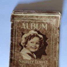Cine: ALBUM SHIRLEY TEMPLE 30 FOTOGRAFIAS. Lote 116689807