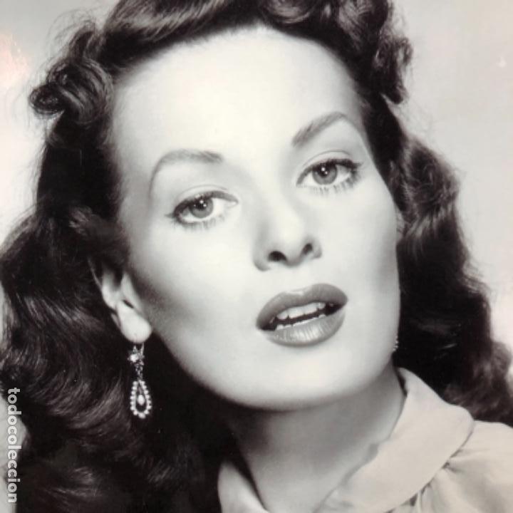 Cine: Maureen OHara fotografía original actriz maureen O´hara 1950 cine clásico estadounidense 25x20 - Foto 2 - 178833975