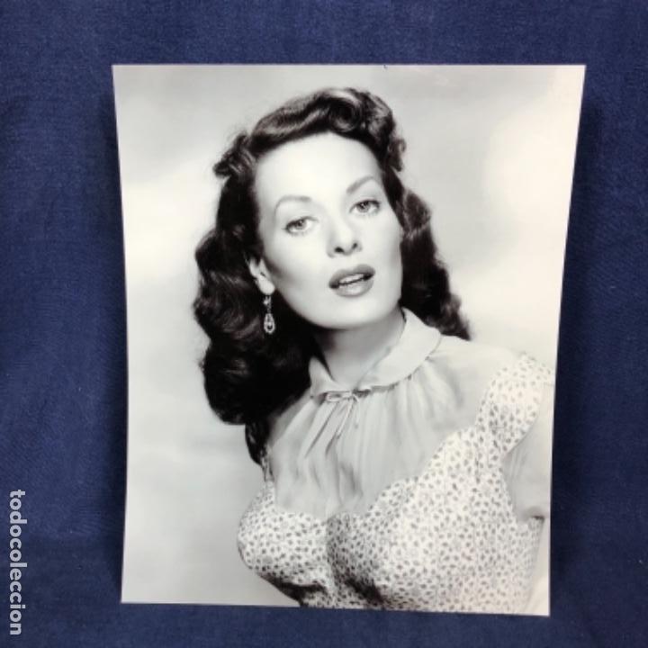 MAUREEN OHARA FOTOGRAFÍA ORIGINAL ACTRIZ MAUREEN O´HARA 1950 CINE CLÁSICO ESTADOUNIDENSE 25X20 (Cine - Fotos y Postales de Actores y Actrices)