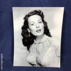 Cine: MAUREEN OHARA FOTOGRAFÍA ORIGINAL ACTRIZ MAUREEN O´HARA 1950 CINE CLÁSICO ESTADOUNIDENSE 25X20. Lote 178833975