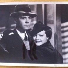 Cine: FOTOGRAFÍA DE LA PELÍCULA SOLO SE VIVE UNA VEZ. HENRY FONDA Y SYLVIA SIDNEY DTOR. FRITZ LANG.1937. Lote 117314499