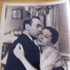 Cine: FOTOGRAFIA PELÍCULA LA NINFA CONSTANTE. CHARLES BOYER Y JOAN FONTAINE. 1943. Lote 117314943