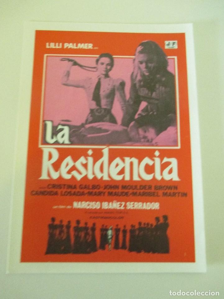 OCTAVILLA PAPEL LA RESIDENCIA NARCISO CHICHO IBÁÑEZ SERRADOR LILLI PALMER CRISTINA GALBO 14 X 10 CMS (Cine - Fotos, Fotocromos y Postales de Películas)