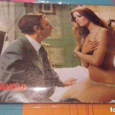 Cine: FOTOCROMOS - SENSUALIDAD 1975 - GERMÁN LORENTE - JUEGO COMPLETO + CARTEL 100 X 70. Lote 118423347
