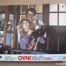 Cine: OVNI UFO LOS DIABLOS ROJOS ATACAN LA TIERRA ------- FOTO DE CARTON DURO. Lote 120012871
