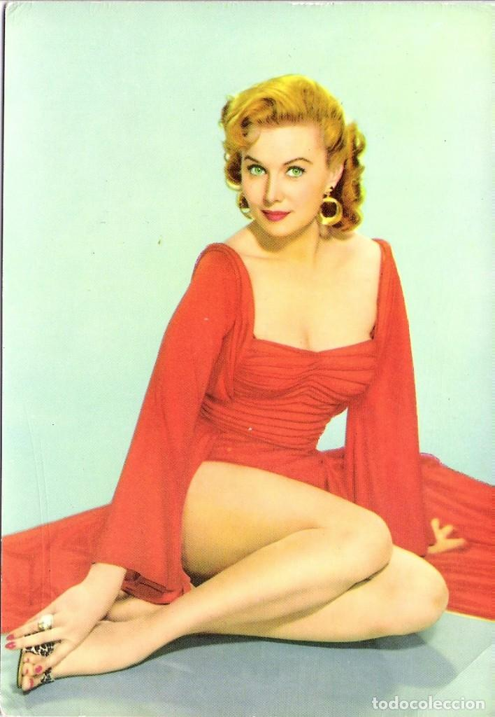 FOTO ORIGINAL A COLOR AÑOS 60 (RHONDA FLEMING) (Cine - Fotos y Postales de Actores y Actrices)