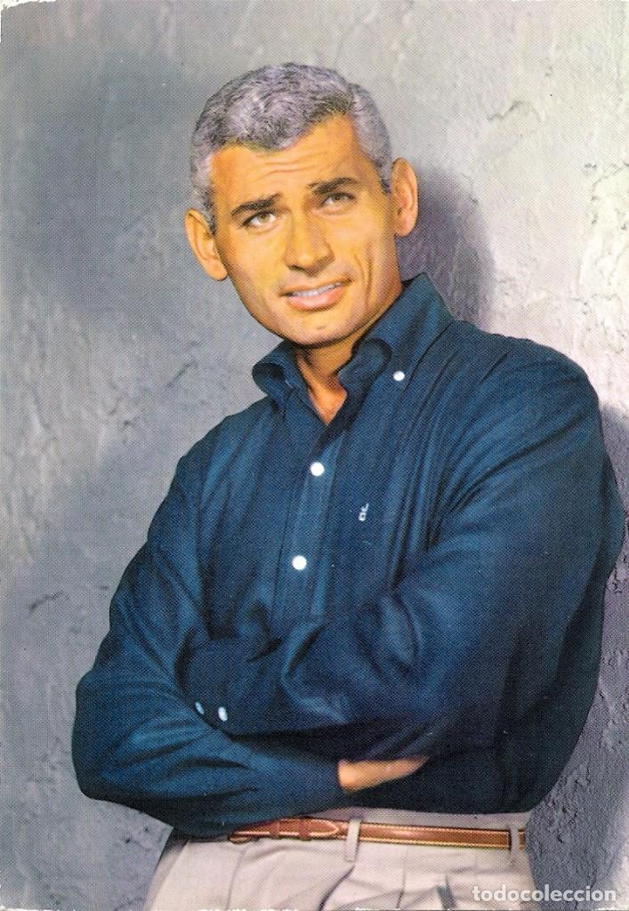 FOTO ORIGINAL A COLOR AÑOS 60 (JEFF CHANDLER) (Cine - Fotos y Postales de Actores y Actrices)