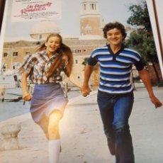 Cine: UN PEQUEÑO ROMANCE, 8 FOTOCROMOS. Lote 120449847