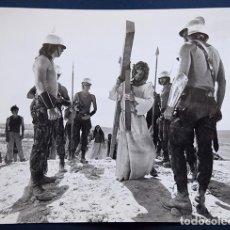 Cine: JESUS CHRIST SUPERSTAR, TED NEELY, 1973 - (FOTOGRAFÍA PARA PRENSA) COPIA VINTAGE 20 X 25 CM. Lote 120771655