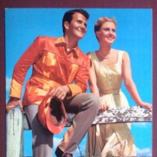 Cine: PAT BOONE. 562. POSTAL OSCARCOLOR. BERGAS . . VELL I BELL. Lote 120821391