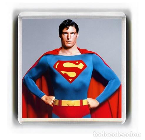 IMAN ACRILICO NEVERA - CINE SUPERMAN (Kino - Fotos und Postkarten von Schauspielern)