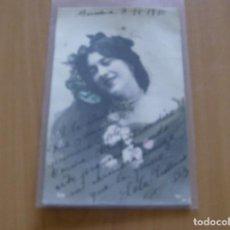 Cine: LOLA ARELLANO - POSTAL CON FIRMA O AUTOGRAFO - BARCELONA AÑO 1910 - SJR 739. Lote 121347883