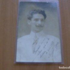 Cine: MANUEL GARCIA - POSTAL CON FIRMA O AUTOGRAFO - AÑO 1910 - LIT. ASTRO. Lote 121348039
