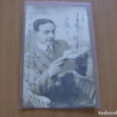 Cine: VICENTE APARICI - POSTAL CON FIRMA O AUTOGRAFO - AÑO 1917 - FOTO VIOLA A/1. Lote 121348359