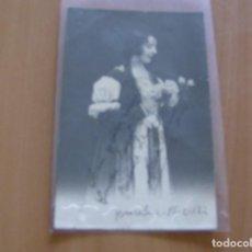 Cine: MARIA SERRANO - POSTAL CON FIRMA O AUTOGRAFO - BARCELONA AÑO 1922. Lote 121349363
