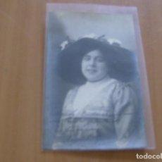 Cine: ANGELITA GARCIA - POSTAL CON FIRMA O AUTOGRAFO - BILBAO AÑO 1911 - POSTAL JOSE RIBAS , BILBAO. Lote 121350603