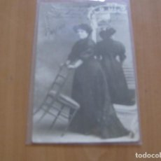 Cine: A. CORTINA - POSTAL CON FIRMA O AUTOGRAFO - BARCELONA AÑO 1910 - FOTO DERREY , VALENCIA. Lote 121351251