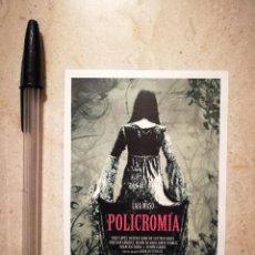 Cine: IMPRESO SENCILLO - POLICROMIA - ALBUM - FANTASIA - CIENCIA FICCION - LAIA MASO. Lote 121678615